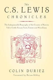 Cover of: The C.S. Lewis chronicles