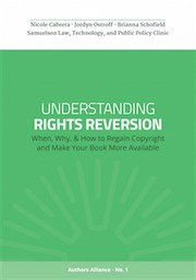 Understanding Rights Reversion by authors aliance