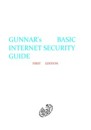 Cover of: Gunnar