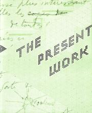 Cover of: The Present Work
