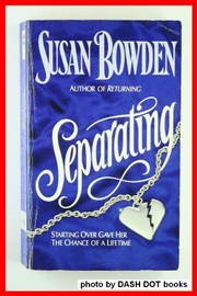 Cover of: Separating | Susan Bowden