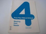 Cover of: Four Year Olds in School: quality matters