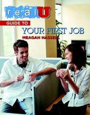 Cover of: Real U guide to your first job | Meagan Hassell