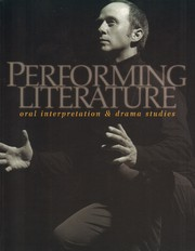Cover of: Performing Literature |