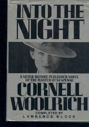 Cover of: Into the Night | Cornell Woolrich