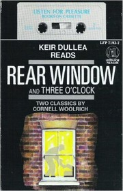 Cover of: Rear Window and Three O'Clock | Cornell Woolrich