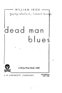 Cover of: Dead Man Blues | Cornell Woolrich
