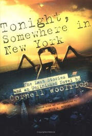 Cover of: Tonight, somewhere in New York | Cornell Woolrich