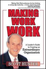 Cover of: Making Work Work