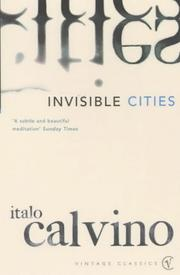 Cover of: Invisible Cities | Italo Calvino