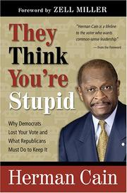 Cover of: They Think You're Stupid