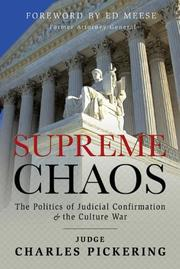 Cover of: Supreme chaos