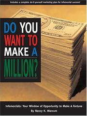 Cover of: Do You Want to Make a Million?
