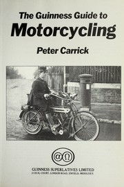 Cover of: The Guinness guide to motorcycling | Peter Carrick