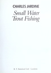 Cover of: Small Water Trout Fishing