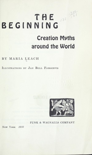The beginning: creation myths around the world by