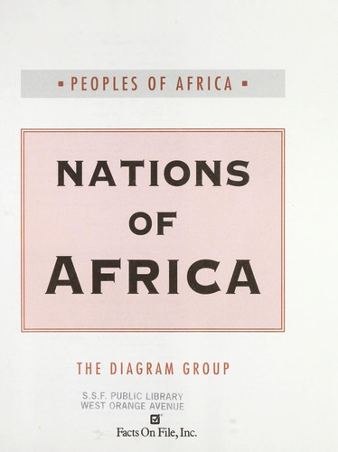 Nations of Africa / the Diagram Group by