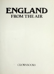 Cover of: England from the air. |