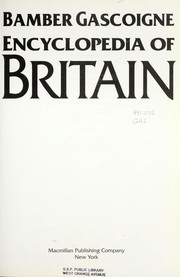 Cover of: Encyclopedia of Britain