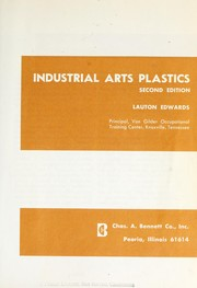 Cover of: Industrial arts plastics