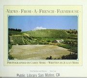 Cover of: Views from a French farmhouse | Carey More