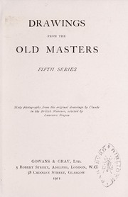 Cover of: Drawings from the old masters, fifth series