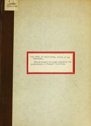 Cover of: [Miscellaneous circulars regarding the distribution of Farmers bulletins] | J. Sterling Morton