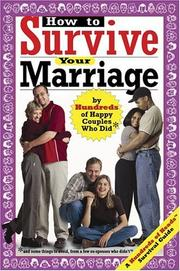 Cover of: How to Survive Your Marriage