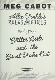 Cover of: Glitter girls and the great fake out