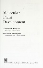 Cover of: Molecular plant development