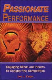 Cover of: Passionate performance