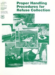 Cover of: Proper handling procedures for refuse collection |