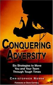 Cover of: Conquering adversity