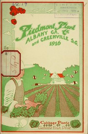 Cover of: Cabbage plants genuine frost proof | Piedmont Plant Co