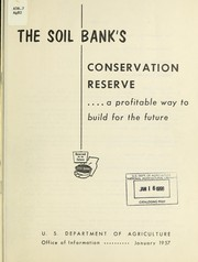 Cover of: The soil bank