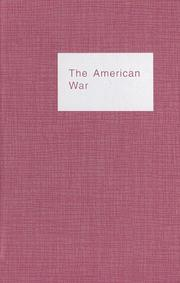Cover of: The American War