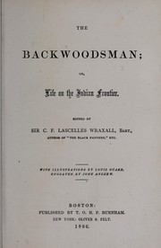 Cover of: The backwoodsman