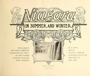 Cover of: Niagara in summer and winter | J. Murray Jordon
