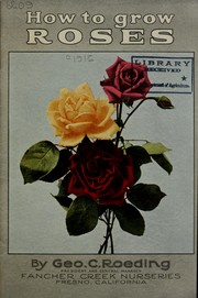 Cover of: How to grow roses