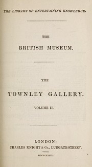 Cover of: The British Museum. The Townley Gallery |