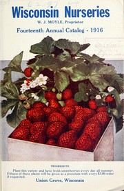 Cover of: Fourteenth annual catalogue 1916 | Wisconsin Nurseries