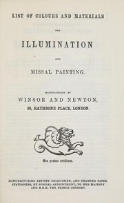 Cover of: Elementary instruction in the art of illuminating and missal painting on vellum