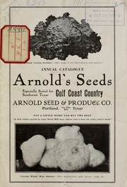 Cover of: Annual catalogue | Arnold Seed & Produce Co