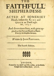 Cover of: The Faithfull Shepherdesse
