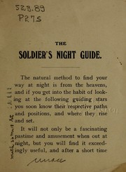 The soldiers night guide for northern France, Belgium and the British Isles