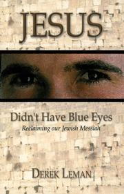 Cover of: Jesus Didn't Have Blue Eyes