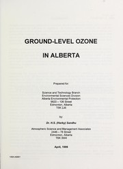 Ground-level ozone in Alberta