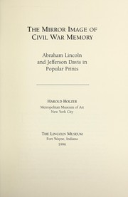 Cover of: The mirror image of Civil War memory