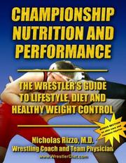 Cover of: Championship Nutrition and Performance