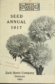 Cover of: Davis superior seeds | Zack Davis Co